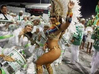 A passista Viviane Araújo desfalcou desfile da Mancha Verde em 2014