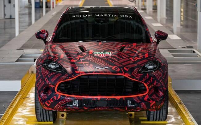 Aston Martin DBX será o único Aston Martin 4x4 e o segundo modelo em larga escala com motorização híbrida