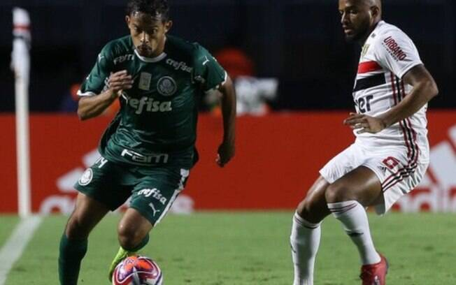 São Paulo e Palmeiras fizeram um clássico bastante disputado no Morumbi