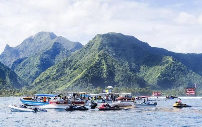 Taiti pode ser a última etapa do mundial de surfe