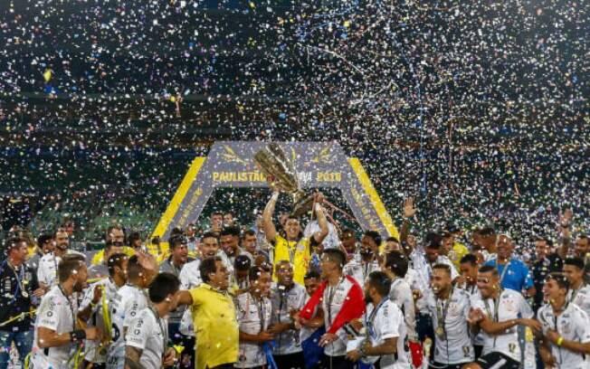 Corinthians foi campeão em 2018