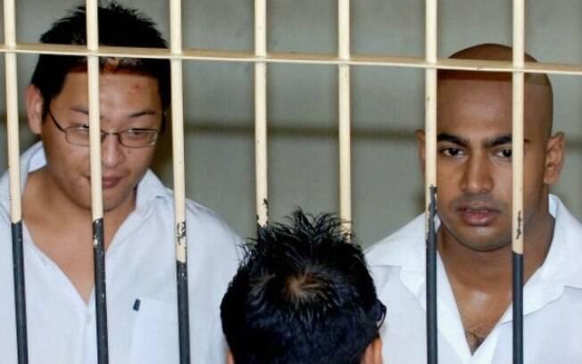 Justiça indonésia negou recursos de Chan e Sukumaran, condenados à morte por tráfico de drogas
