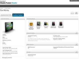 BlackBerry Mobile Fusion foi lançado antes para smartphones e tablets da RIM