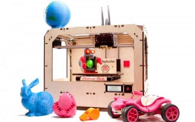 Makerbot Replicator está à venda por US$ 1.700 nos EUA