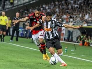 Douglas Santos vai reencontrar o Flamengo, rival do Galo na semifinal da Copa do Brasil 2014