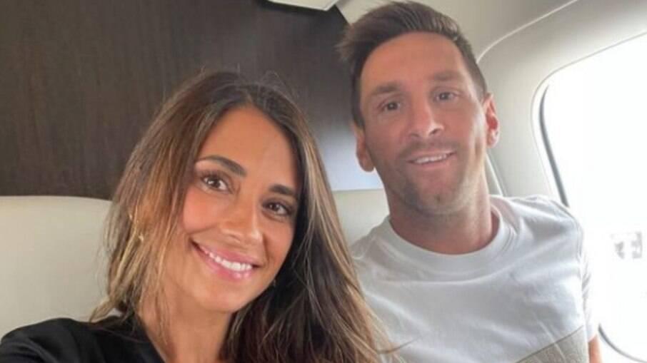 Em 2017, Antonela e Messi oficializaram a união