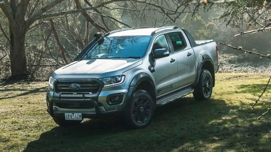 Ford Ranger Wildtrak X: versão australiana com visual aventureiro tinha até snorkel entre as diferenças entre as demais