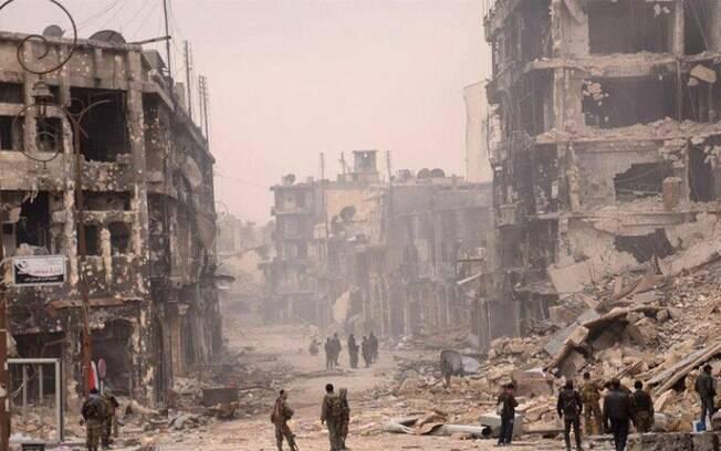 Cerca de 13,5 milhões de pessoas na Síria precisam receber ajuda humanitária, sendo que 6,3 mi são deslocados internos