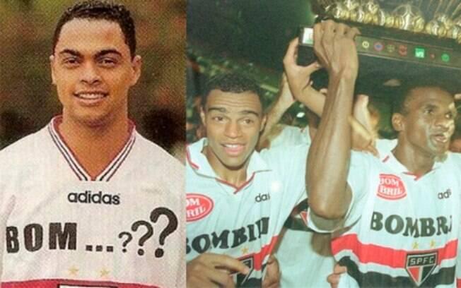 Em 1997, antes de anunciar o patrocínio da Bombril, o São Paulo fez suspense em seu uniforme