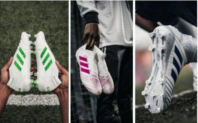 Chuteiras Adidas criadas com ajuda de Paul Pogba, meia do Manchester united