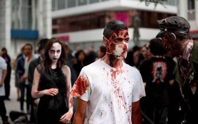 Em São Paulo, todos os anos acontece a Zombie Walk