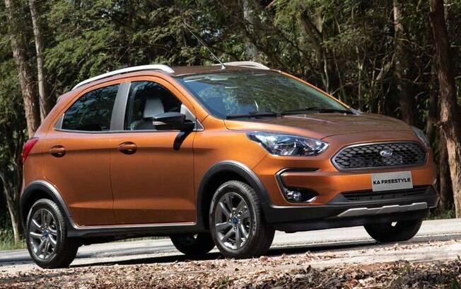 O Ford Ka surge com a medalha de prata entre os veículos de entrada com o seguro mais em conta no Brasil