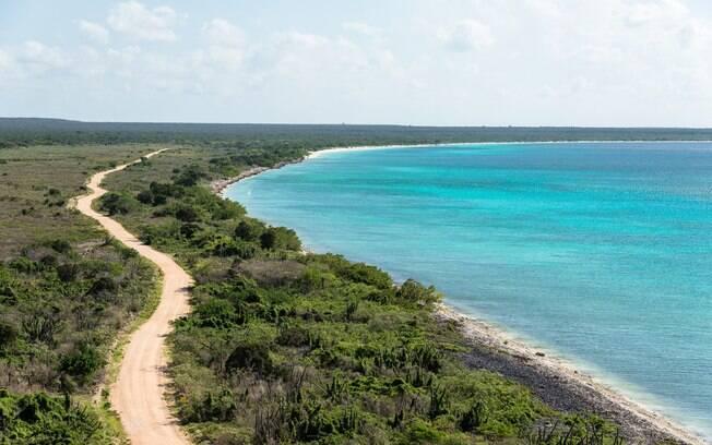Bahía de las Águilas é considerada a praia mais bonita da República Dominicana