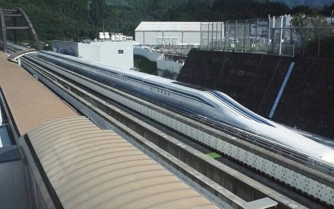 """Velocidade de 603 km/h se manteve por 10,8 segundos"""" quando o trem atravessava um túnel"""