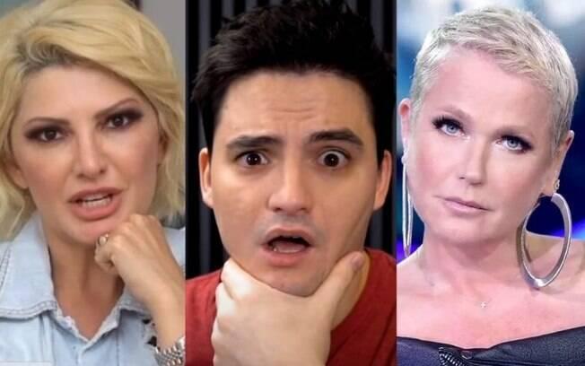 Antonia Fontenelle, Felipe Neto e Xuxa