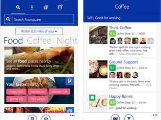 Foursquare agora tem versão para Windows Phone. Grátis também para iPhone e Android