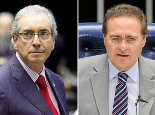 Eduardo Cunha e Renan Calheiros, ambos do PMDB, estão na lista de Janot