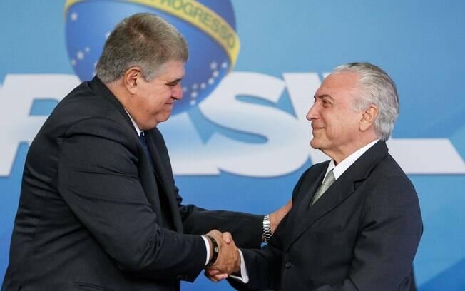 Carlos Marun é considerado um dos homens de confiança do ex-presidente Michel Temer