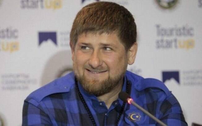 Ramzan Kadyrov tem apoio do presidente russo Vladimir Putin