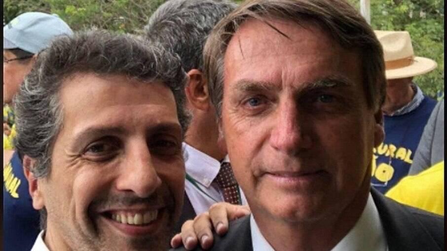 O novo ministro do Meio Ambiente e o presidente Jair Bolsonaro