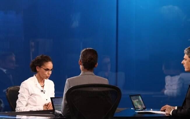 Ao JN, Marina Silva disse que o impeachment de Dilma Rousseff não foi golpe, mas criticou Temer; a candidata da Rede ainda afirmou que hoje não se aliaria a Aécio