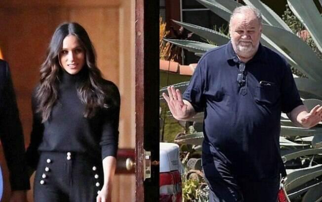 Polêmicas da família real britânica! Pai de Meghan Markle fala da sua relação com a filha