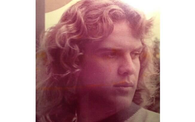 '1977', escreveu o apresentador Pedro Bial ao divulgar a imagem do fundo do baú
