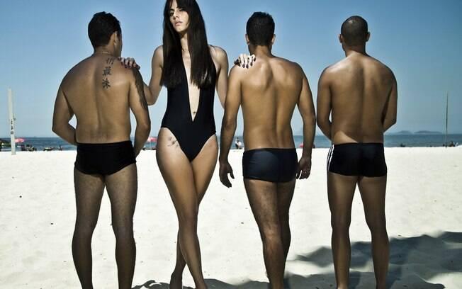 A modelo Felipa Tavares fez ensaio exclusivo para o iG na praia do Leme, no Rio de Janeiro
