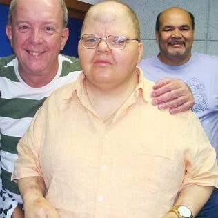 Rafael Soares nos estúdios da Rádio Globo
