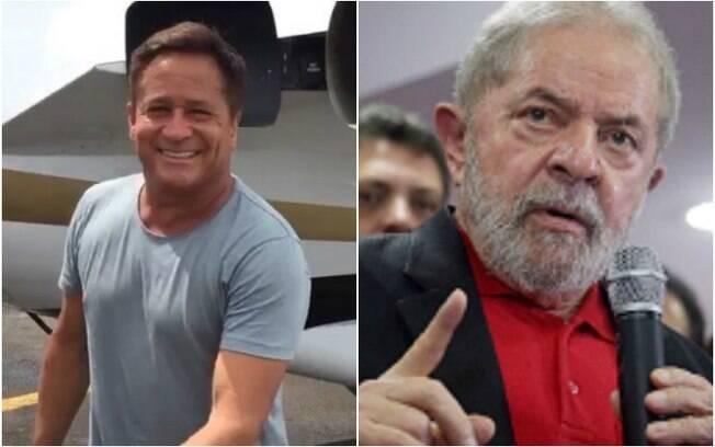 Cantor Leonardo afirma que não gravou áudio comemorando a prisão do ex-presidente Lula