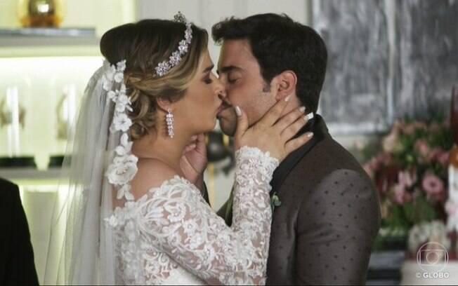 Britney e Abel se casaram em