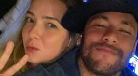 Neymar faz homenagem para ex e atual marido responde