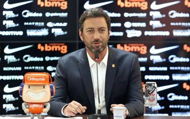 Duílio confirma nova diretoria do Corinthians