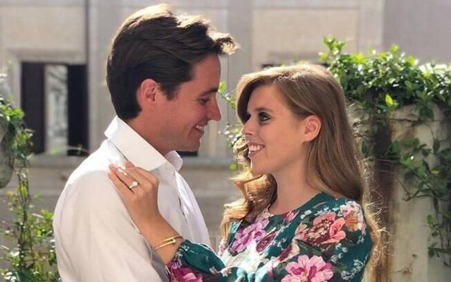 Princesa Beatrice e seu noivo
