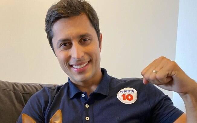Duarte Júnior, candidato a prefeito em São Luís, está com Covid-19