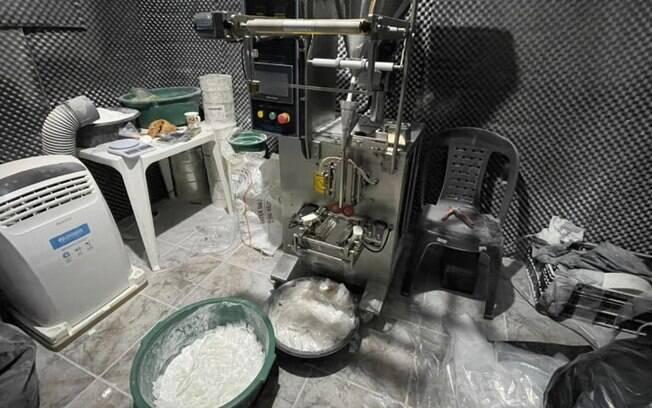 Polícia Civil fecha laboratório de drogas em Campinas