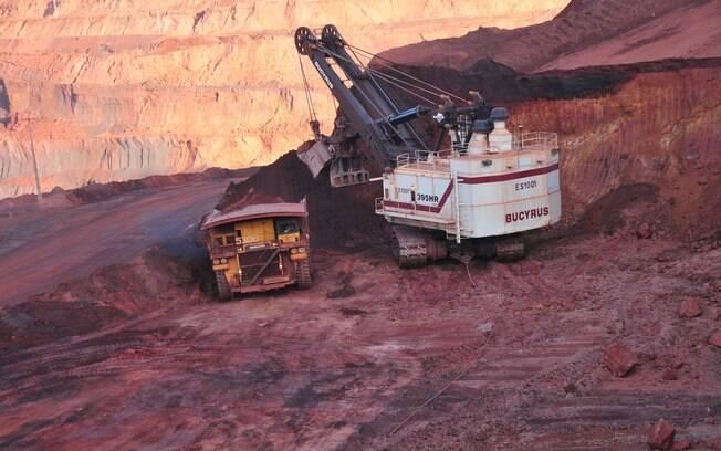 Segundo o presidente-executivo da Vale, a empresa já está produzindo 1 milhão de toneladas de minério de ferro por dia