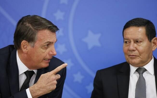 Bolsonaro vai chutar Mourão em 2022
