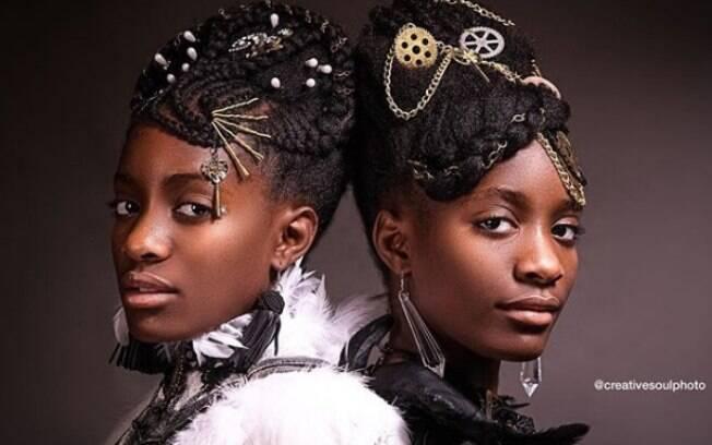 O ensaio Afro Art tem o objetivo de incentivar a relação de crianças negras com o cabelo natural