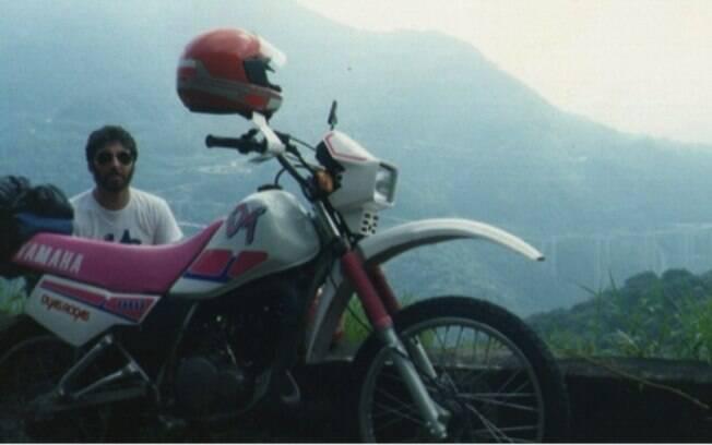 A Yamaha DT 180 era a mais procurada para as trilhas