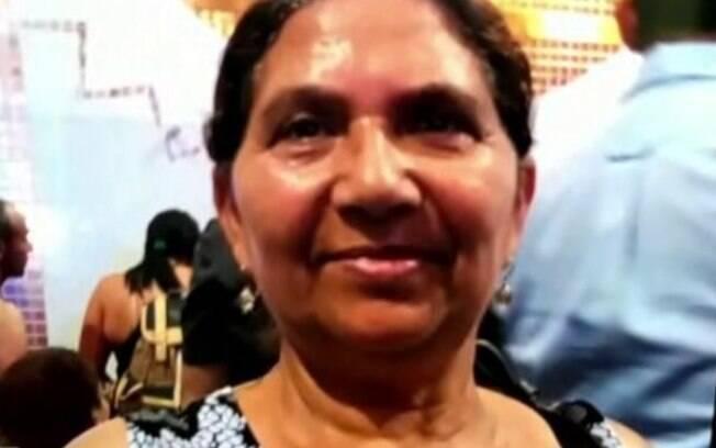 Audenilce Bernardina dos Santos morreu atropelada na faixa de pedestre