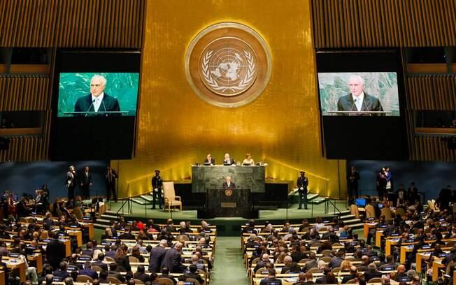 Líderes mundiais estão reunidos na Assembleia Geral da ONU, que teve início nesta terça-feira (21) em Nova York