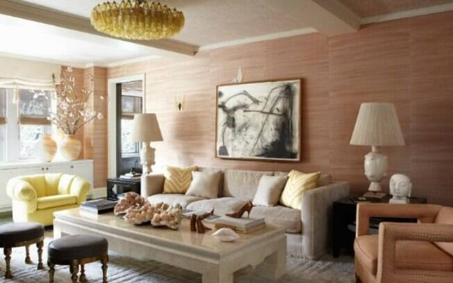 Luxo contemporâneo marca o estilo da casa da atriz americana Cameron Diaz