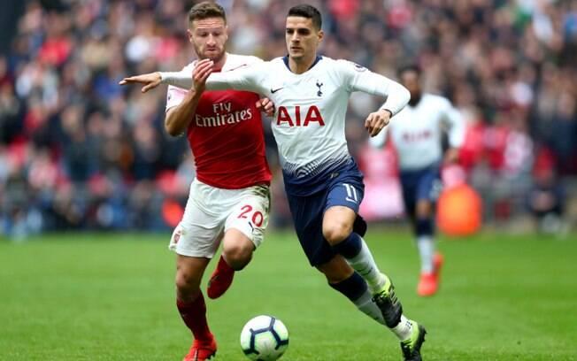 Arsenal e Tottenham empataram no clássico do norte de Londres