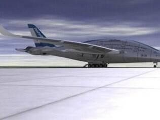 Avião do futuro é projetado por designer espanhol
