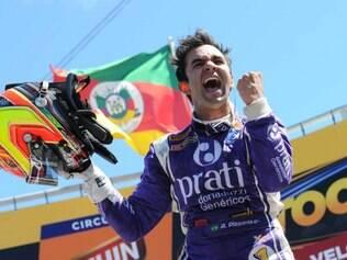 Antônio Pizzonia venceu sua segunda corrida em Santa Cruz do Sul