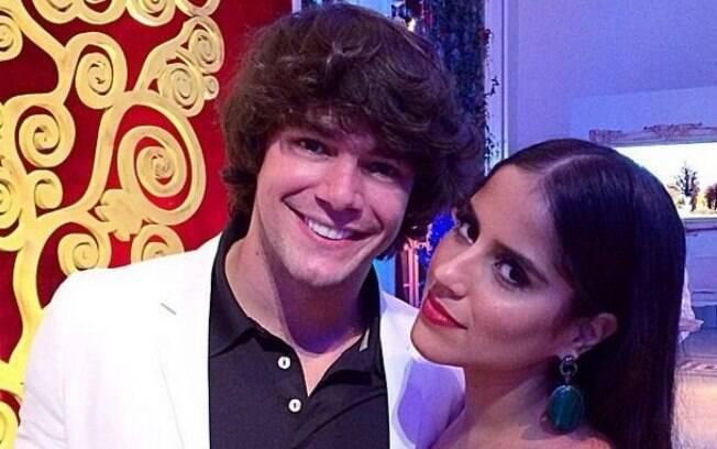 Camilla Camargo e Osmar Silveira