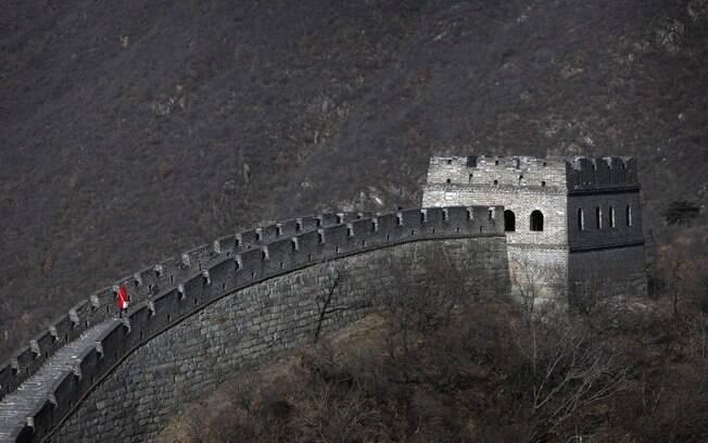 Quem vandalizar a Muralha da China poderá ser banido de várias outras atrações históricas