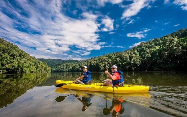 A reserva Legado das Águas, em Miracatu -SP, é um destino de ecoturismo para o carnaval