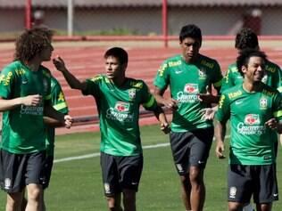Seleção treina em Brasília neste domingo
